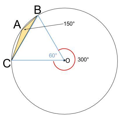 高校数学無料学習サイトko-su- 正弦定理 外接円と具体図2