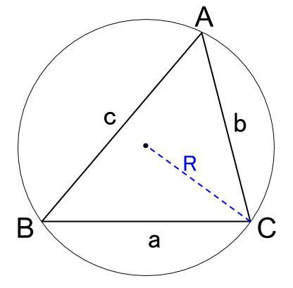 高校数学無料学習サイトko-su- 正弦定理 図1