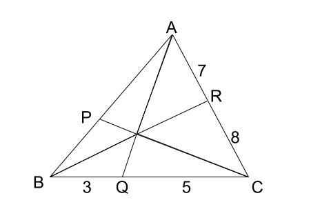 高校数学無料学習サイトko-su- チェバの定理 例題1