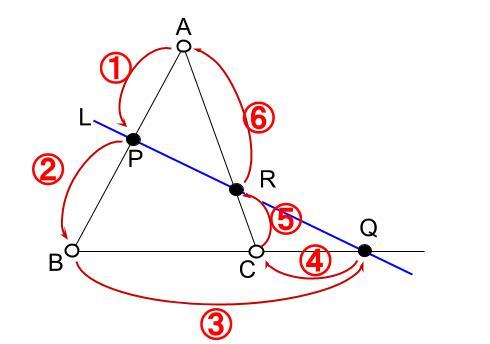 高校数学無料学習サイトko-su- メネラウスの定理002