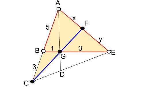 高校数学無料学習サイトko-su- メネラウスの定理 例題2決定